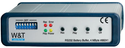RS232 Battery Buffer, 4 MB