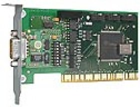 Low Profile PCI card 1x 20mA, 1kV isolated