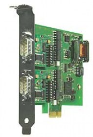 PCI Express Card 2x RS232/RS422/RS485,