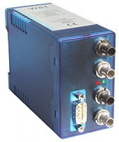 ST fiber-optic line bus  RS485 interface
