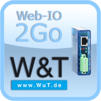 Web-IO 2Go Android Temperature